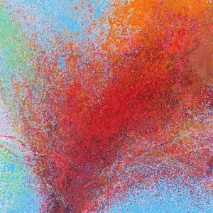 """Peinture à l'acrylique intitulée """"Enjoy 01"""""""