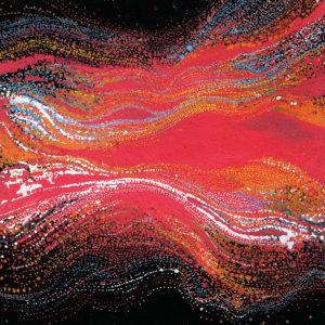 """Peinture à l'acrylique intitulée """"Effervescence 01"""""""