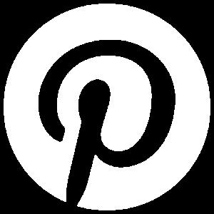 Badge du réseau social Pinterest 800x800px